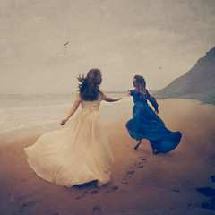 guiding lights (brookeshaden) Tags: selfportrait painterly classic sisters australia phillipisland cinematic fineartphotography conceptualphotography