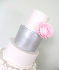 Pale Pink Peony & Painted Silver Tier (A Cherry On Top Scotland) Tags: wedding roses cake scotland petals fife weddingcake pearls sparkle piping vows topper shimmer ruffle burntisland tiered bestdayever cherryontop weddingcupcakes openingroses openroses rosecupcakes clairesara balbirniehousehotel buttercreamswirl palepinkpeony bespokeweddingcake silvertier vowswinner silverpaintedtier whitepetalruffle whitemilkglassstand pinkbirdcagewrappers