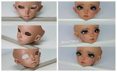 Eyelid Reconstruction (Rakeru Space) Tags: eye make up doll bjd modification fairyland eyelid sensei reconstruction ante rakeru minifee senseis