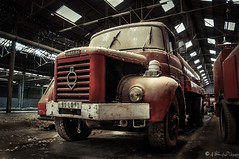Camion-Berlier (NoSound Photography) Tags: urbex explorationurbaine emptyseat pompiers camion truck berlier ancien rouge fireman france rusty car amazing forgot memory nikon nosoundphotography