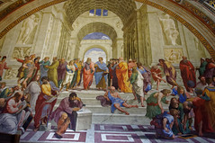 L'cole d'Athnes / The School of Athens (Leguman vs the Blender) Tags: vatican rome roma italia italie flickrtravelaward