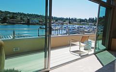 Fortis Aluminum Deck built by Dennis Carkonen on Washington's Hood Canal
