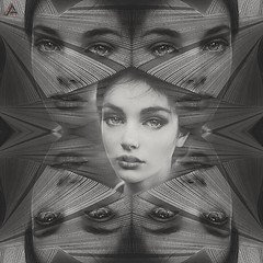 #photography #women #face #edit #art #collage #graphicdesign #effect #mirror #blackandwhite #dream #fantastic #artwork #freeart #portrait #popart #photodesign #edited #illustration (mrbrooks2016) Tags: blackandwhite illustration freeart effect face collage graphicdesign photography dream popart artwork edited photodesign art mirror portrait edit fantastic women