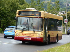 Harris Coaches 09 (welsh bus 16) Tags: 09 dennis dart slf alx200 qualityline harriscoaches fleurdylys sn51ucl