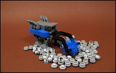 The Sweepwalker (Karf Oohlu) Tags: lego walker sweeper moc microscale streetaweeper