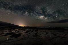 Milky Way Reflection. (Pedro Lpez Batista) Tags: long nightshot fuerteventura canarias nocturna canaries canaryislands va milkyway jandia largaexposicion pajara