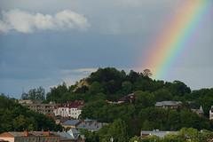 Rainbow Landing on Lysa Hora (tarmo888) Tags: rainbow lviv ukraine special lvov  lww lemberg  lwow leopolis ukrayina photoimage  sooc sonyalpha   ratusha autohdr sony geosetter  geotaggedphoto nex7 sel18200 foto year2016