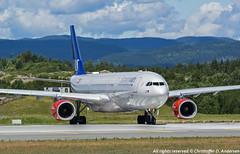 LN-RKN (13) (Christoffer Andersen) Tags: oslo airplane airbus sas a330 osl scandinavianairlines staralliance a330300 passengerplanes osloairportgardermoen sk907 sasnewcabin