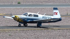 Mooney M20F N221HP (ChrisK48) Tags: airplane aircraft 1967 m20 dvt phoenixaz kdvt mooneym20f phoenixdeervalleyairport n221hp
