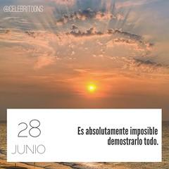 Frase célebre 28/6/2016 (CELEBRITOONS) Tags: quote quotes frases reflexión cita imposible aristóteles frasescélebres demostrar