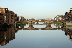 Florence Reflections (Alan1954) Tags: italy holiday water reflections river florence europe tuscany 2016 platinumpeaceaward