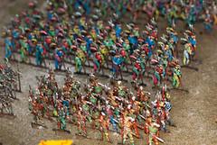 Colorful soldiers (quinet) Tags: panorama germany flats 2012 jouets kulmbach spielwaren castleroad burgenstrase plassenburgcastle plassenburgzinnfigurenmuseum