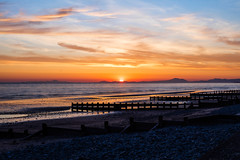 Balmouth Sunset Over the Llyn Peninsula (tonymorrison.tepd) Tags: uk sun seascape water weather wales year places type sunsetsunrise barmouth 2016
