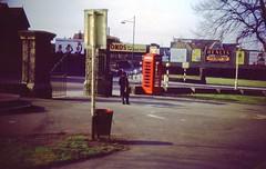 Eastville Park (Walt Jabsco) Tags: bristol slides k6 gpo redtelephonebox eastville mullerroad eastvillepark fishpondsroad april1962 epsonv500 k6telephonebox