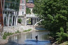 Oslo (morten f) Tags: street city summer water oslo norway river walking norge europe sommer aker akerselva grnland elv 2016 vasser akerselven