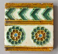 Medmenham tile (robmcrorie) Tags: century tile ceramic crafts arts glaze conrad 20th 19th dressler medmenham