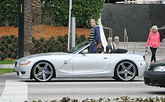 BMW Z4 M Roadster (RudeDude2140a) Tags: sports car silver convertible m exotic bmw z4 roadster