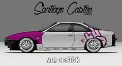 Nissan Silvia S14 Zenki Forza Motorsport 4 (Santi Castro Ediciones) Tags: drift zenki diseo design desenho madeinjapan bride hks pirelli nissan silvia edit edicion imitacion replica jdm japan