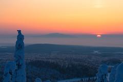 Winter landscape 7-2 by Olli Lamminsalo (www.finnature.com) Tags: winter snow sunrise finland march kuusamo lumi talvi maaliskuu auringonnousu talvimaisema tykky kuntivaara nuorunen