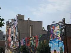 Street of Murals, Jersey City, New Jersey (lensepix) Tags: newjersey mural jerseycity jerseycityart jerseycitymural