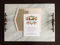 Jessica & Andrew (dulynotedstationery) Tags: wedding stationery invite invitations