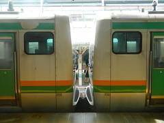 E231 (2) (Transrail) Tags: tokyo emu yamanoteline jreast e231 electricmultipleunit tokaidomainline eastjapanrailwaycompany kawasakiheavyindustries tokyucarcorporation