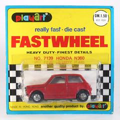 MIS-Playart-7139 (adrianz toyz) Tags: car honda toy hongkong model diecast n360 playart