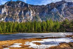 Krottensee (Inzell) (novofotoo) Tags: schnee natur alpen moor landschaft motiv gewsser gebirgssee krottenseeinzell