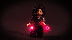 LEGO Romilda Vane (Geertos13) Tags: love flask lego harry potter spell custom vane vfx enchanted potion minifigure infatuation romilda brickforge
