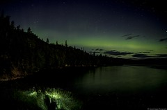 aurores borales (yannick_gagnon) Tags: auroresboreale night nights 1001nights soir light