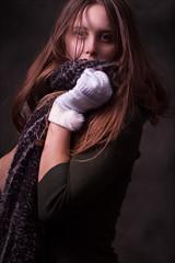 Natural (shontz photography) Tags: shontz shontzphotography ruby nicolson amelia portrait girl woman brown scarf