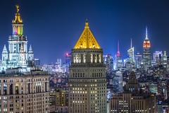 To the North (Brandon Taoka) Tags: nyc newyorkcity cityhall manhattan financialdistrict empirestatebuilding