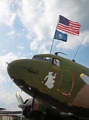 Douglas DC-3 (AC-47) (N2805J) Spooky (dlberek) Tags: spooky gunship douglasdc3 n2805j americanflightmuseum douglasac47