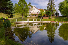 Wedding Day (Yewbert The Omnipotent) Tags: toronto canada reflection home reflections landscape pond nikon country d750 weddingvenue lightroom
