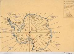 Sdpol (wolfgraebel) Tags: ink paper penguins map drawing south antarctica karte pole research doctor 1989 300 papier continent tinte bleistift zeichnung pinguine dpi landkarte freundin estermann doktor recherche antarktis kontinent antarktika erdteil
