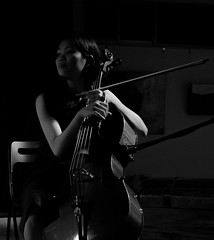 Cellist on a breather (simmosimpsonphotography) Tags: cello bow cellist