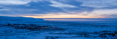 Selfoss (dawvon) Tags: countryside landscape winter árborg nature city suðurland selfoss iceland travel cloud twilight sky snow season europe sunrise nordic dawn halflight lýðveldiðísland republicoficeland southernregion town ísland south
