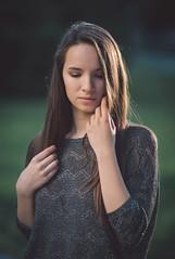 8 P.M. (Pavel Valchev) Tags: sunset sun girl sunshine lens warm sony portraiture mf manual tender a57 samyang rokinon vsco