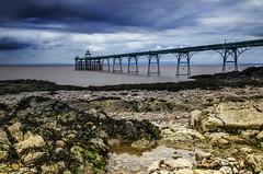 Clevedon Pier (Paul's Picx) Tags: avon pier clevedon bristol channel listed beach weather rain nikon d7000 sigma 1750