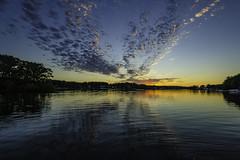 another Budd Lake sunset (TAC.Photography) Tags: reflections michigan goldenlight buddlake