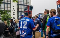 fram sland (katrin glaesmann) Tags: people iceland football flag fans reykjavk sland publicviewing inglfstorg 101reykjavk summer2016 yesiambiased uefaeuro2016 evrpukeppninknattspyrnu2016