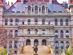 New York State Capitol ~ Albany New York ~ Facade ~ Historic