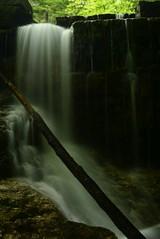 2016_0629Dark-Falls0003 (maineman152 (Lou)) Tags: summer nature water june waterfall stream dam newhampshire waterfalls brook fallingwater naturephotography naturephoto