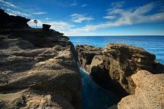 Rock Chasm (Paul Hollins) Tags: ocean seascape rocks australia erosion newsouthwales aus catherinehillbay snapperpoint iamnikon nikond7100