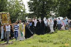 A cross procession from the village of Nikolskoe to the village of Adamovka / Крестный ход из Никольского в Адамовку (10)