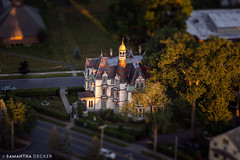 Tilt-Shift Batcheller Mansion (Samantha Decker) Tags: ny newyork upstate saratogasprings aerial helicopter canonef24105mmf4lisusm batchellermansion canoneos6d samanthadecker