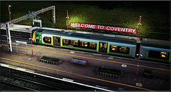 Welcome!  Explored 04/07016. (-Metal-M1KE-) Tags: nightphotography night nighttime welcome coventry londonmidland welcometocoventry
