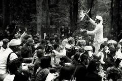 Ngertakeun Bumi Lamba #14Water spray prayer (dqsetiadi) Tags: ngertakeunbumilamba sundawiwitan sunda humaninterest blackandwhite tradisi ritual