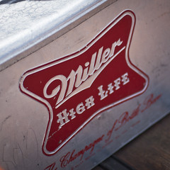Miller cooler (greenchartreuse) Tags: beer miller cooler numansdorp itselvistime