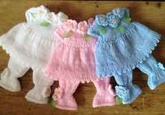 Blooming Lovely dress and bloomer sets